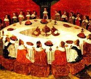 Knights of the Round Table in Camelot