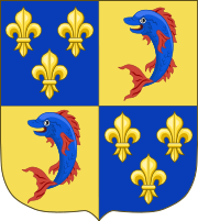 coat of arms of the Dauphin of France