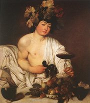 Bacchus by Caravaggio