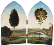 A diptych by Christina Goodman