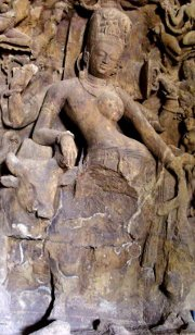 Ardhanarishvara from Elephanta Caves