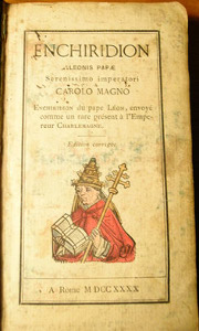 An enchiridion by Pope Leo