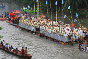 A fluvial procession in Naga City, Philippines