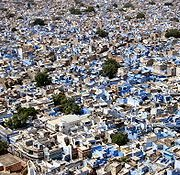 The city of Jodhpur