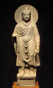 Buddha with nimbus