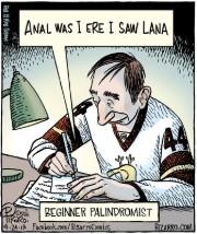 palindrome cartoon