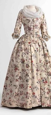 A dress in chintz