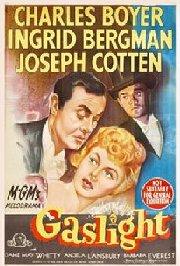 Gaslight movie poster, 1944