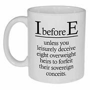 i-before-e mug