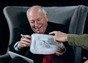 Dick Cheney signing a waterboarding kit