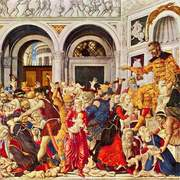 The Massacre of the Innocents at Bethlehem by Matteo di Giovanni
