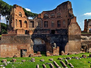 Roman ruins on the Palatine Hill