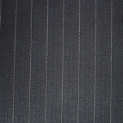 A pinstriped fabric