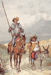 Don Quixote & Sancho