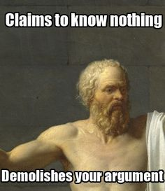 Socratic irony