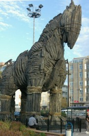 Trojan Horse from the movie Troy