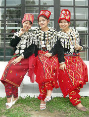 The Kachin people of Burma who traditionally practice ultimogeniture